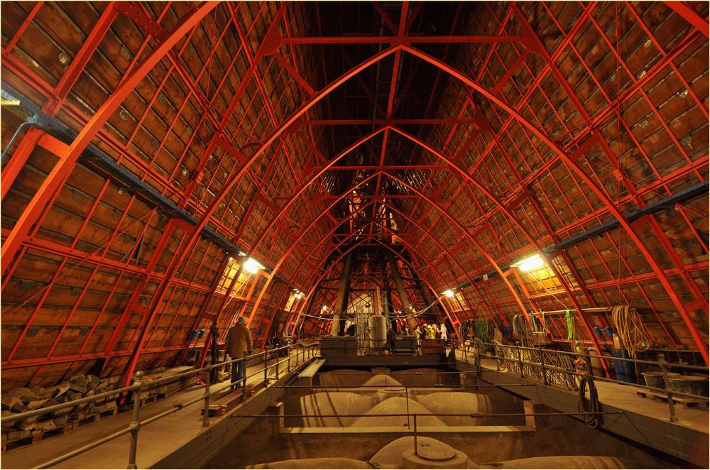 Unterm Dach vom Kölner Dom 1