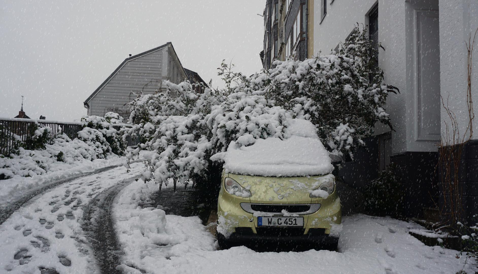 Unterm Schneedach