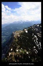 Untersberg aus der Luft