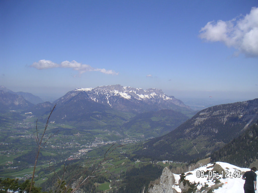 Untersberg (Sicht vom Jenner)