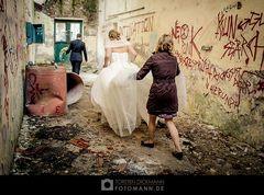 Unterwegs als Hochzeitsfotograf in Bocholt