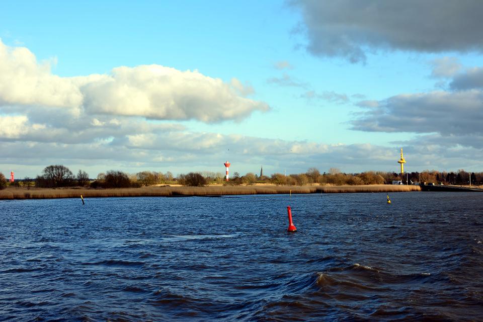 unterwegs auf der Weser