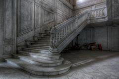 Unterwegs im alten Chateau