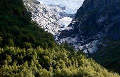 Unterwegs im Gletschergebiet Norwegens