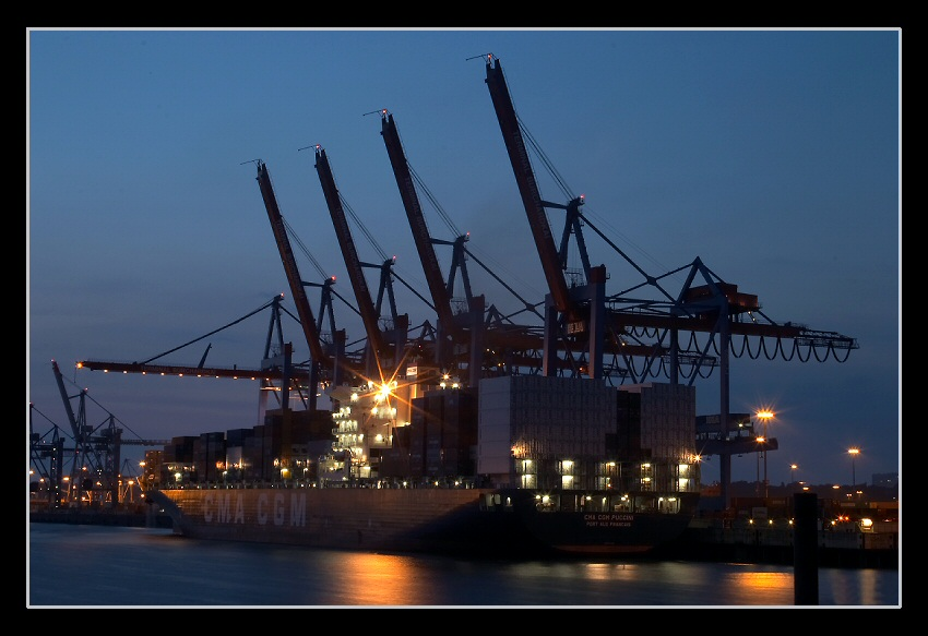 Unterwegs im Hafen 1