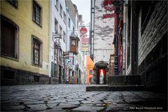 Unterwegs im Martinsviertel zu Köln .....
