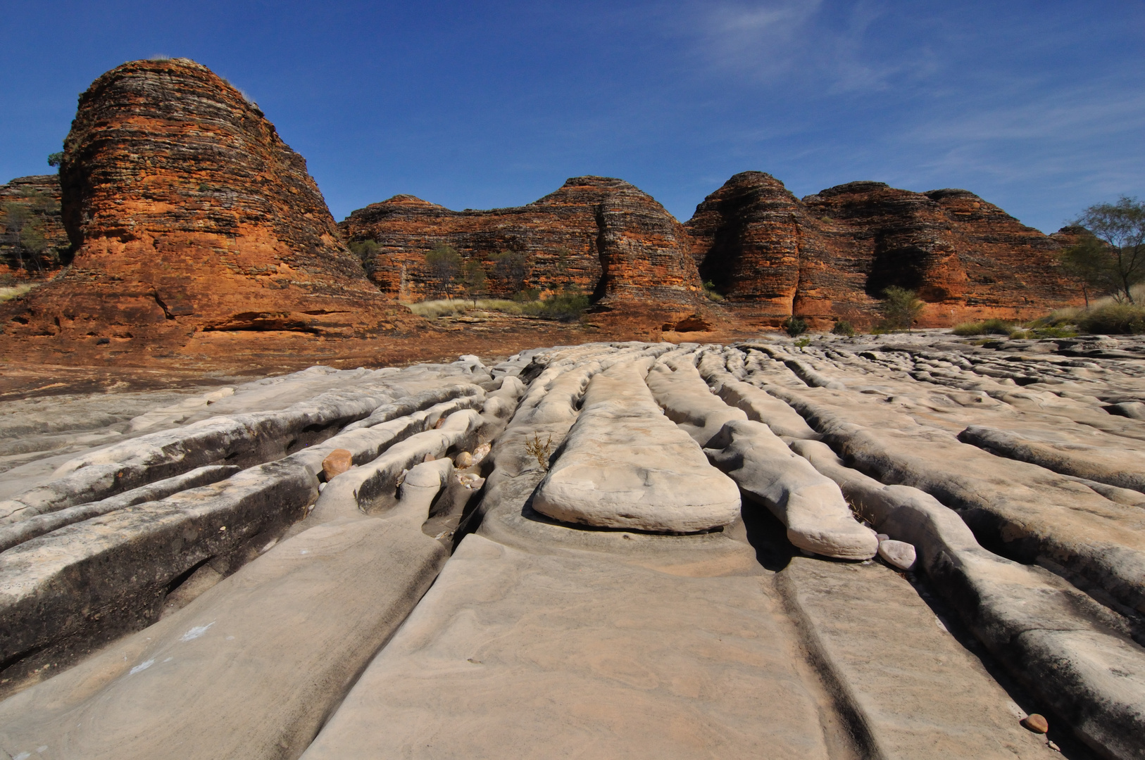 Unterwegs im Purnululu-Nationalpark (Australien)