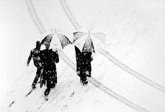unterwegs im Schnee