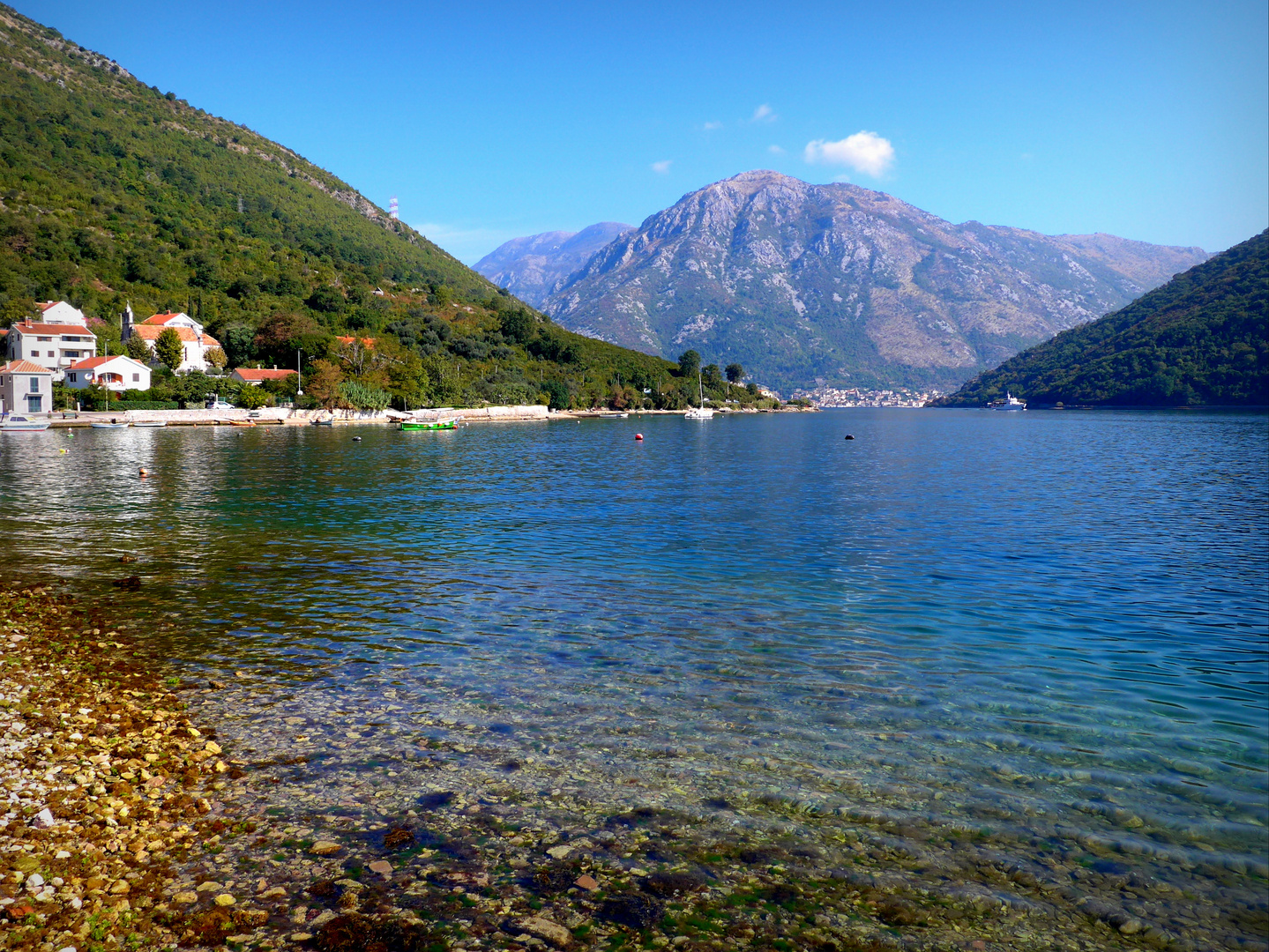 Unterwegs in der Bucht von Kotor