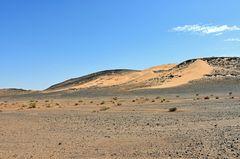 Unterwegs in der Wüstenregion um Tafraout Hassi Fougani