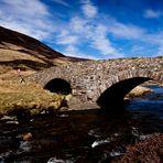 unterwegs in die highlands