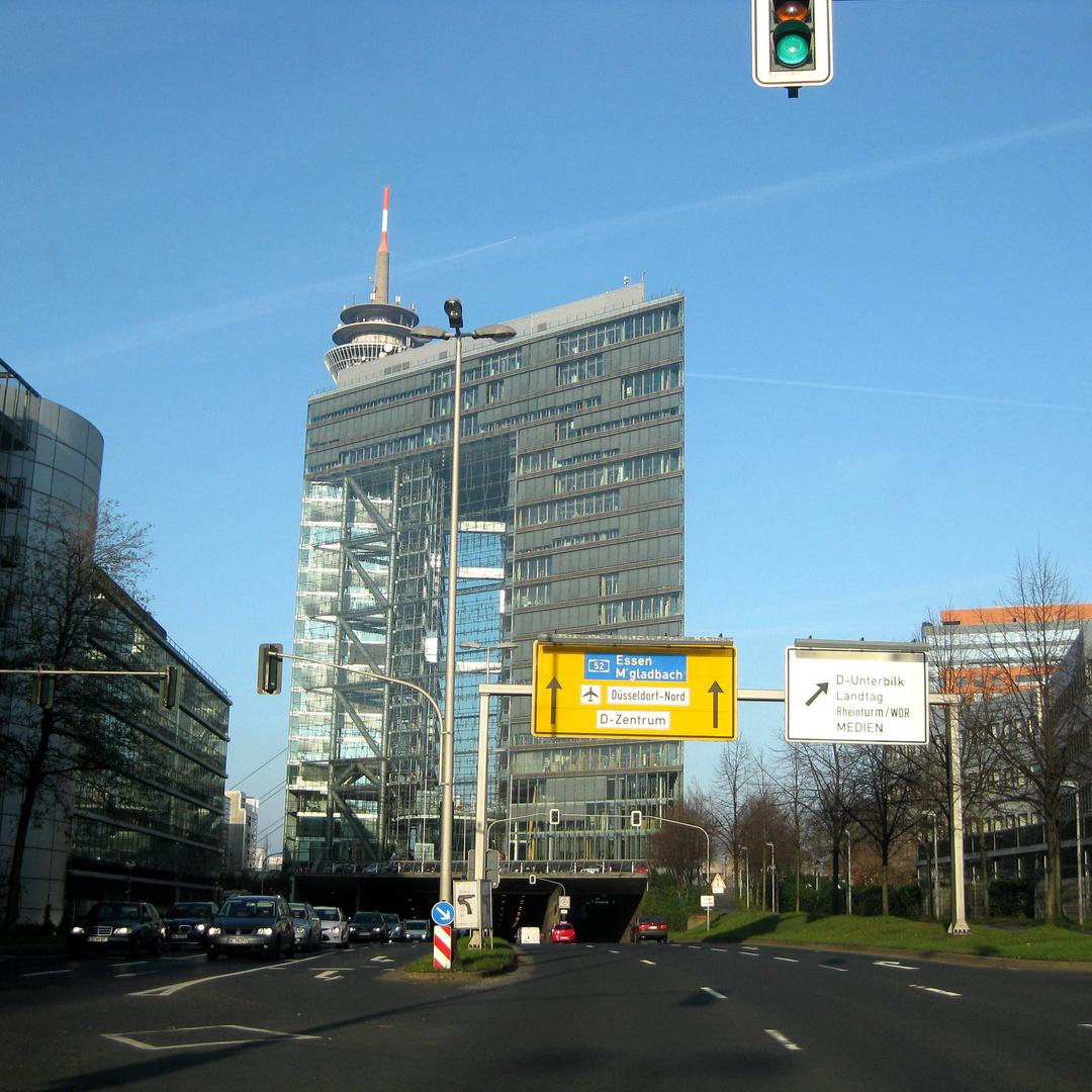 unterwegs in Düsseldorf