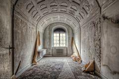 Unterwegs in einem alten Sanatorium