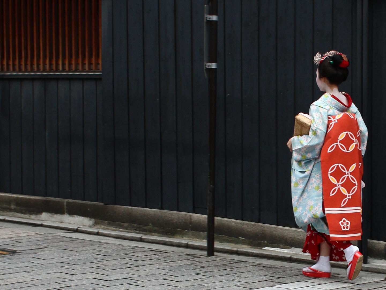 Unterwegs in Gion