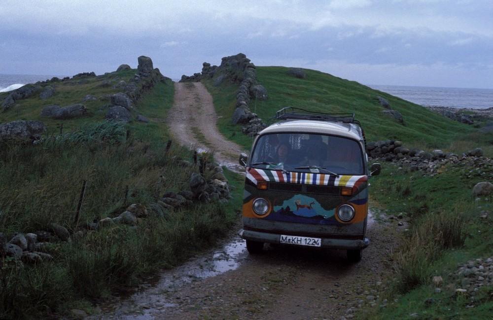 Unterwegs in Irland 1977