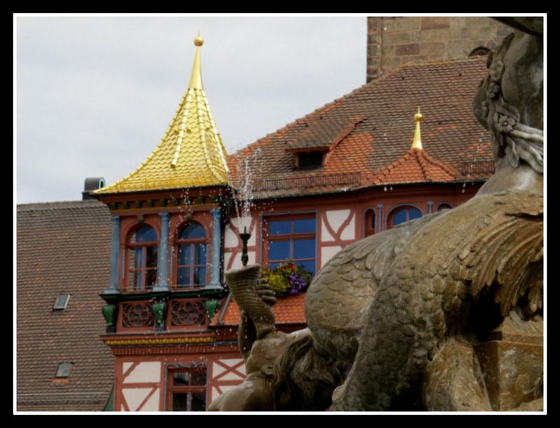 Unterwegs in Schwabach...