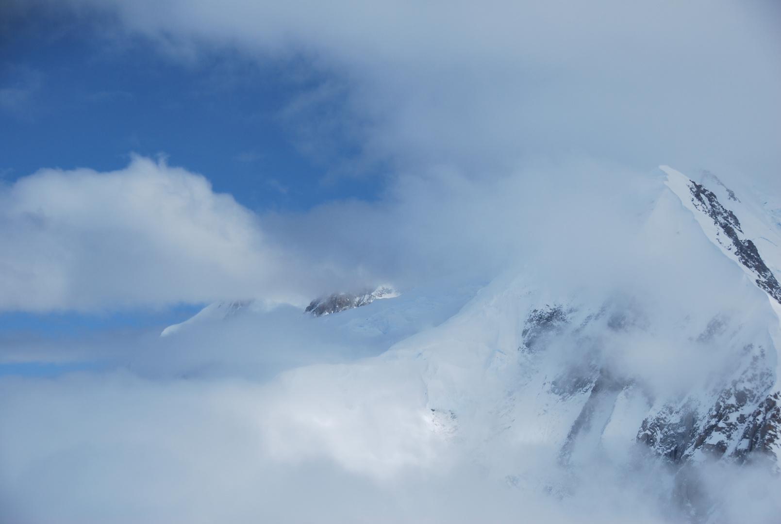 Unterwegs mit Talkeetna Air Taxi im Gebiet um den Mount McKinley Nr.1