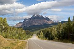 Unterwegs nach Jasper auf dem Yellowhead Highway