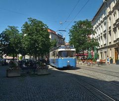 Unverwüstliche P-Wagen der Münchner Trambahn
