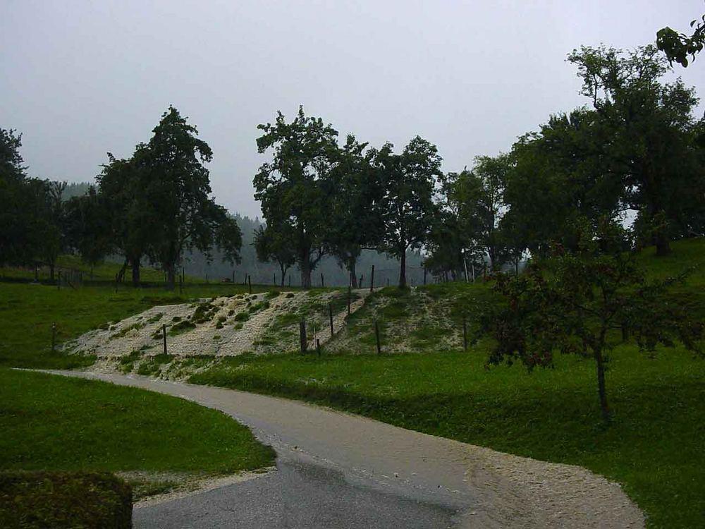Unwetter am 22.08.2005