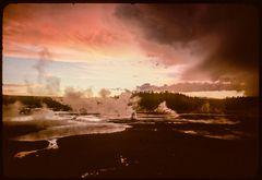 Unwetter im Yellowstone-NP