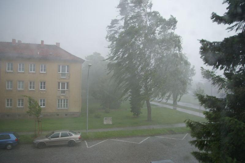 Unwetter in Ludwigsfelde