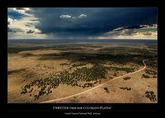 Unwetter über dem Colorado-Plateau