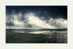 Unwetter über dem See