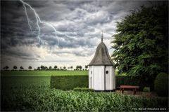 Unwetter über Laar ...