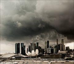 ~ Unwetter über Singapur ~