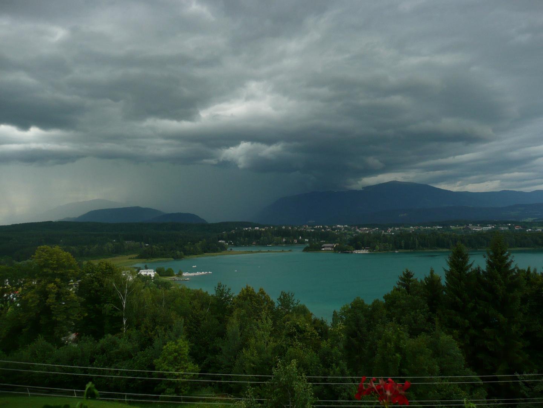 Unwetter zieht auf am Faaker See-Kärnten 2010