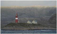 Unwirkliche Fjordwelt