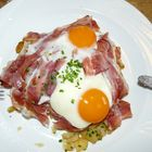 Uova, speck e patate
