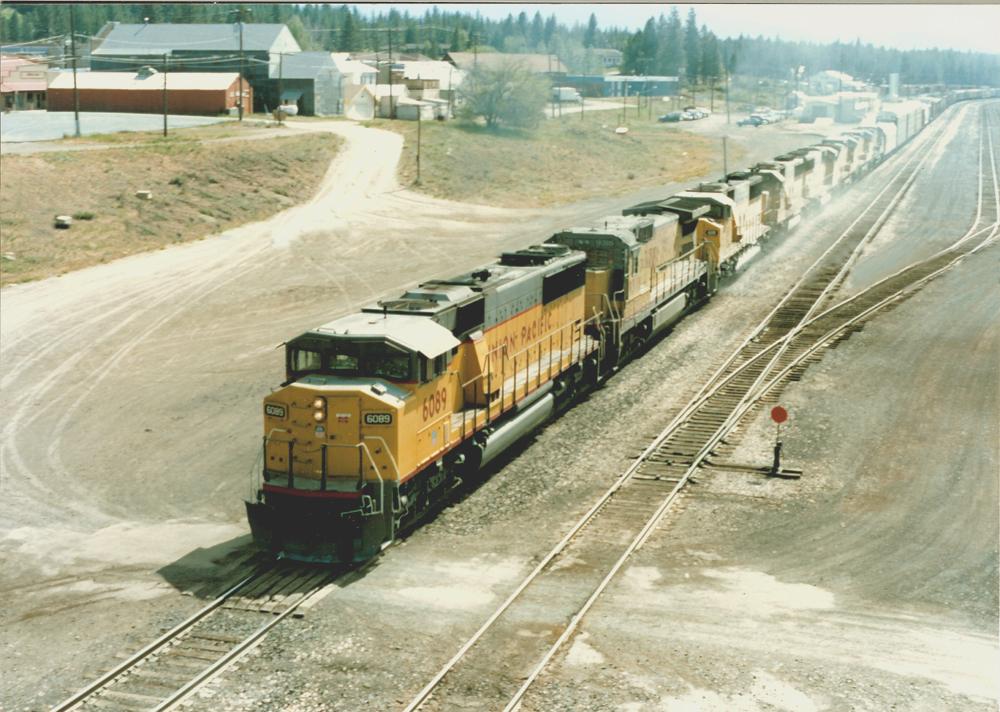 UP 6089 in Portola (Kalifornien)