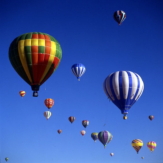 Up, up and away....
