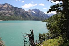 Upper Waterton Lake / Waterton-Glacier International Park...