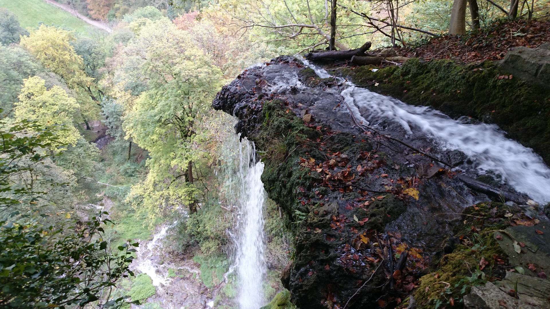 Urach waterfalls