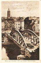 Uralt-Minden _ Weserbrücke ca. 1917