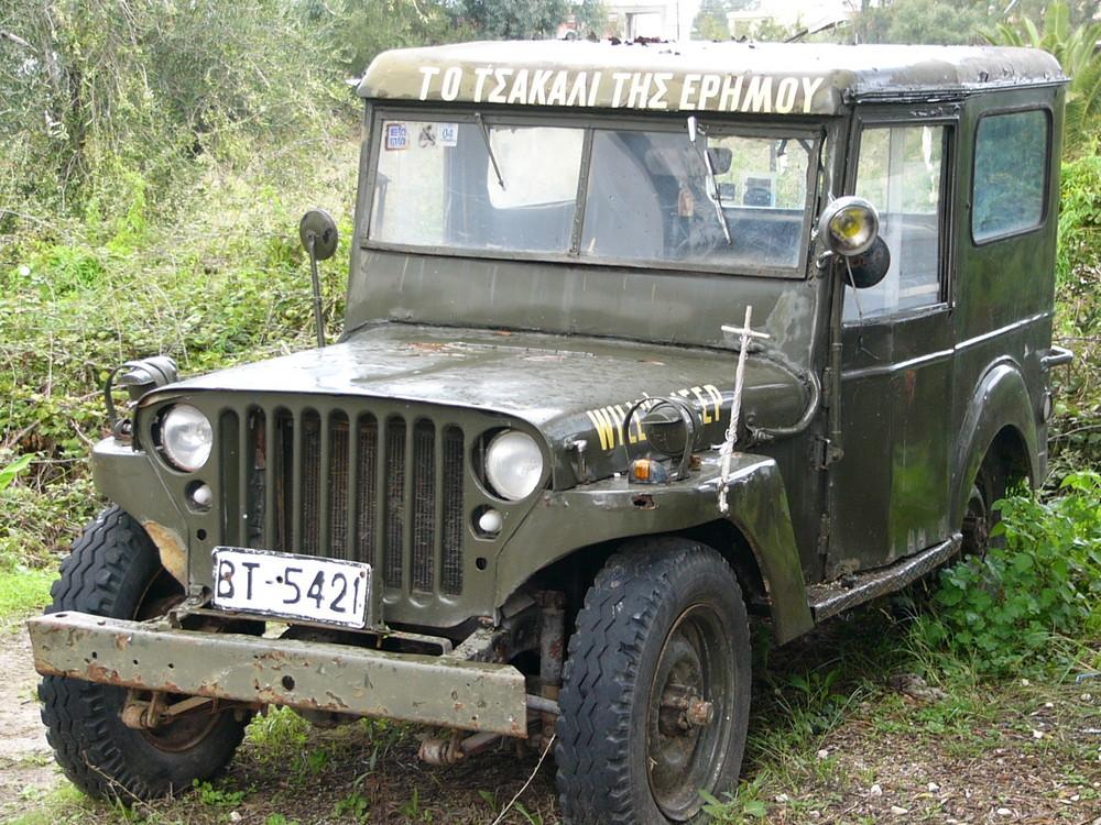 uralter jeep foto bild autos zweir der milit r. Black Bedroom Furniture Sets. Home Design Ideas