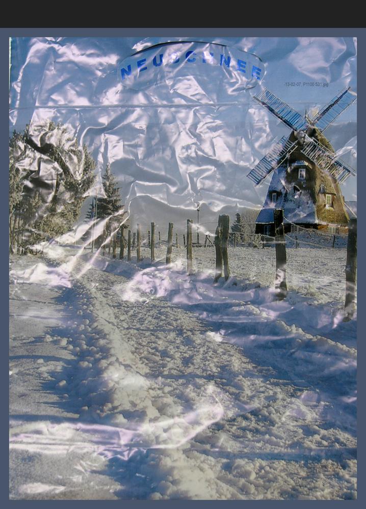Uralter Schnee