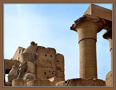 Uraltscan vom Luxortempel