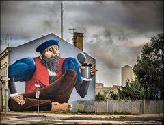 Urban art in Lisboa