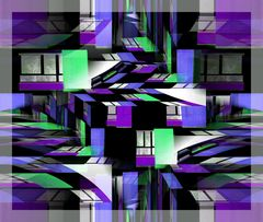 Urbane Phantasie Violett