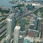 urbane Stadtlandschaft am Wasser