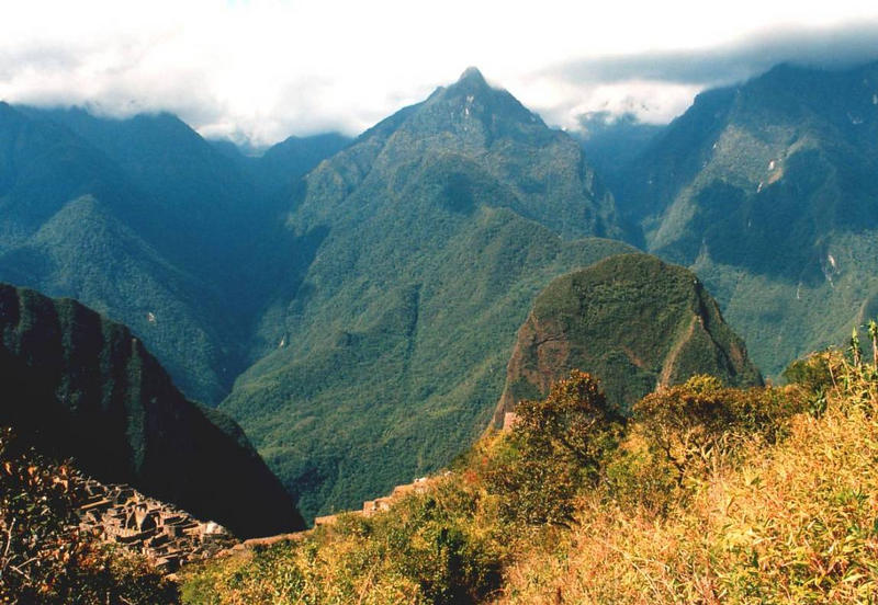 Urlandschaft um Machu Picchu