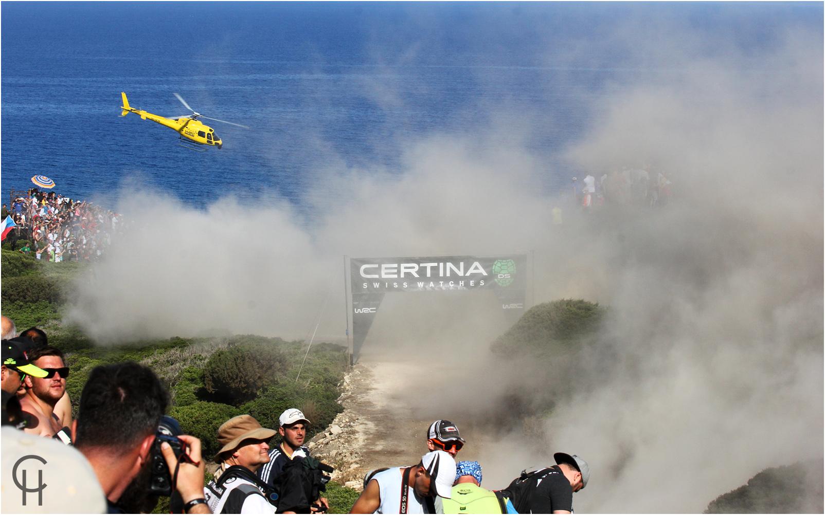 Urlaub am Meer - WRC Rallye Sardinien 2017
