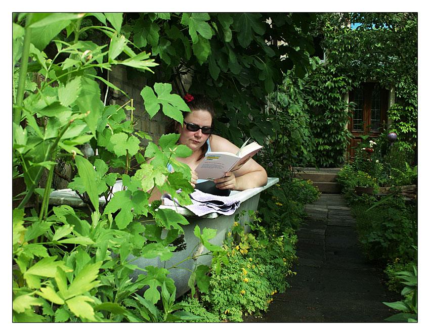 Urlaub im Vorgarten
