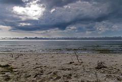 Urlaubsbild 7: Noch mal zum Strand umgedreht, bevor wir gehen...
