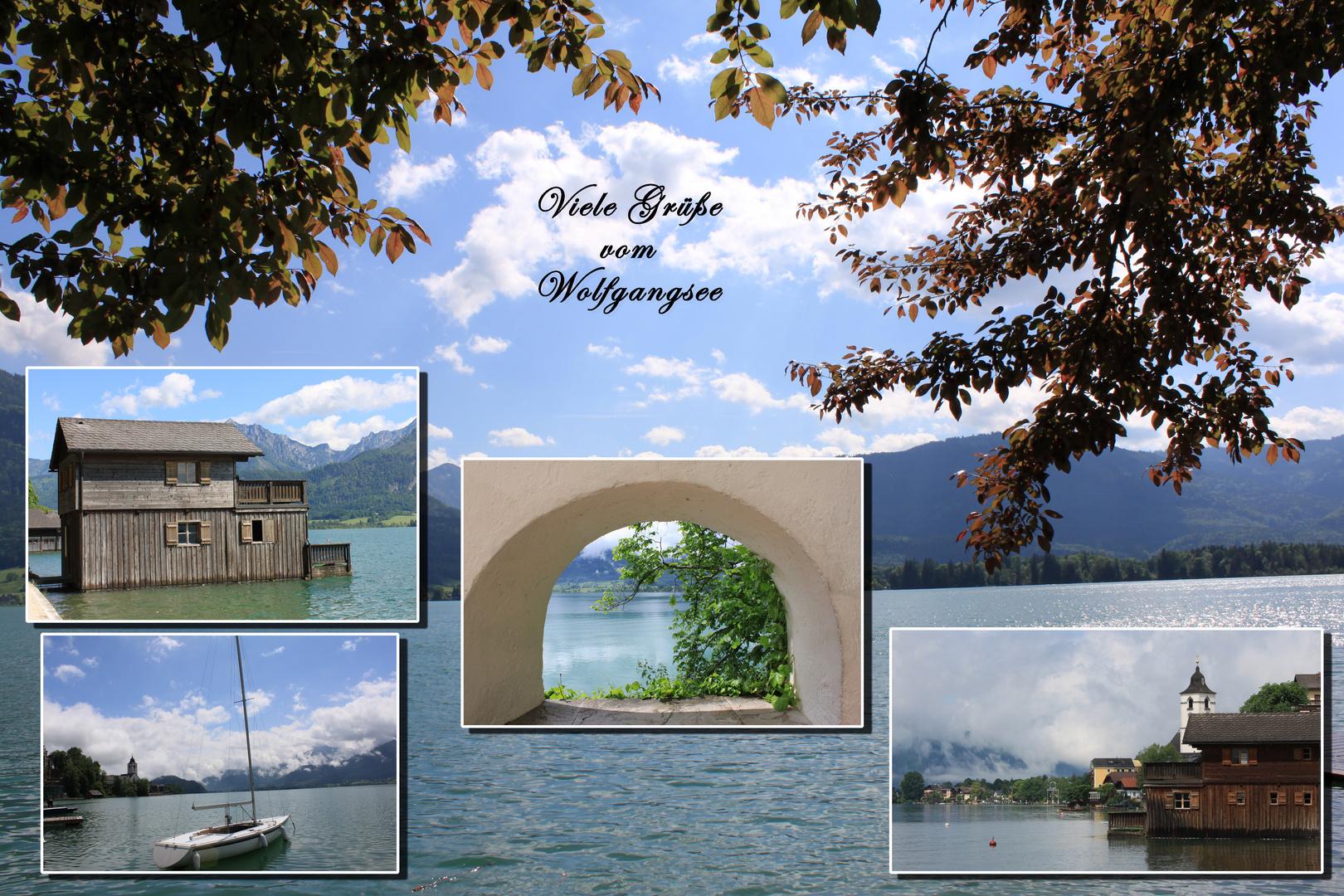 Urlaubsimpressionen aus St. Wolfgang