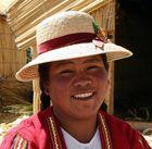 Uro Frau am Titicacasee